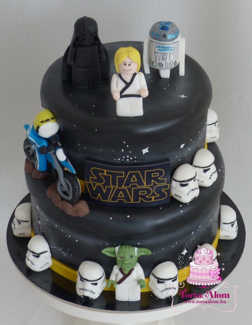 Eccezionale Tortaálom | Formatorta | Lego Star wars torta CG88