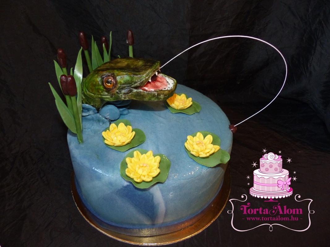 halas torták képek Tortaálom | Formatorta | Halas pecás torta halas torták képek